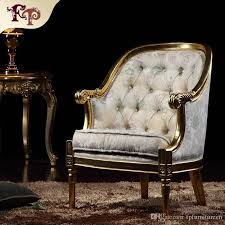 Italian Classic Furniture Living Room Royal French Style Manufacturer Round Chair Provincial