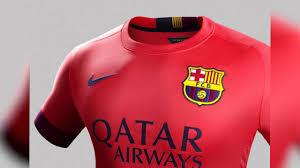le maillot extérieur du fc barcelone 2014 2015