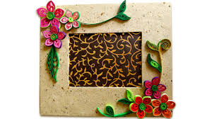 Picture Of How To Make Beautiful Quilling Photo Frame
