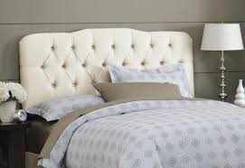 White King Headboard And Footboard by King Tufted Headboard And Footboard Doherty House Getting