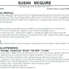 Personal Statement Cv Examples Uk