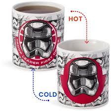 seven20 wars stormtroopers troop leader 11oz heat reveal ceramic mug