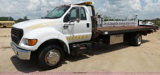 100 F650 Ford Truck 2001 Rollback Truck Item K1184 SOLD August 17
