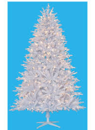 8 Foot Tribeca Spruce White Artificial Christmas Tree Unlit