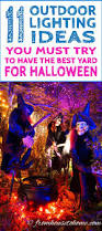 Halloween Decorations Pinterest Outdoor by 458 Best Halloween Decorating Ideas Images On Pinterest