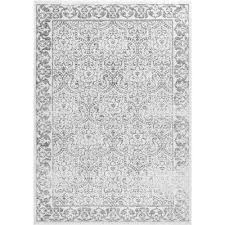 nuLOOM Floral Area Rugs Rugs The Home Depot