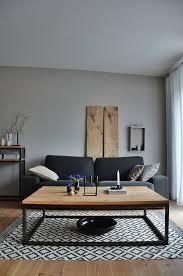 wohnzimmer in grautönen vor bild kaufen