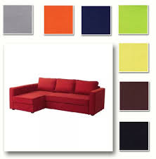 Ikea Soderhamn Sofa Bed by Custom Made Cover Fits Ikea Manstad Sofa Bed With Chaise Hidabed