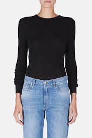 100 Toby Long Sleeve Thermal Black The Line