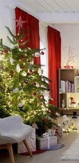 weihnachtsbaum deko ideen zum schmücken obi