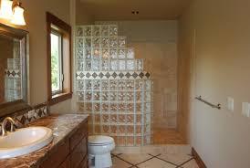 separation salle de bain mettons des briques de verre dans la salle de bains archzine fr