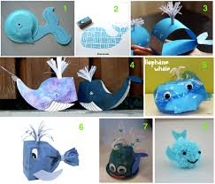 Blue Whale Art And Craft Ideas Kids Teaching Endangered Species