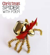 The Christmas Spider DIY Free Poem Printable