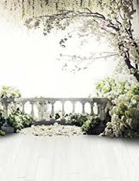 Generic Scenic Photography Backdrops Floral Tree Wedding Background For Photo Studio Romantic Wood Floor LQ