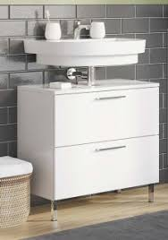 ariton badezimmer waschbeckenunterschrank aufbewahrung unterschrank weiß
