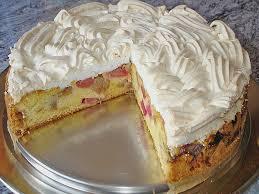 rhabarber baiser kuchen