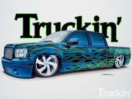 2007 GMC Sierra - Cover Truck Paint Process - Truckin' Magazine Drag Racing Team Paint Scheme Design In Motion Solutionsin Vehicle Wraps Dallas Commercial Custom Graphics Retro Big 10 Chevy Option Offered On 2018 Silverado Medium Duty Jeep Ideas Top Car Designs 2019 20 Chevys Custom 1967 C10 Pickup Is A Modernized Classic Fox News From Auto Trim Of Charlottesville Va On Trucks Reviews Ford Previews Eight Fseries Pickups For Sema Carscoops Jobs Gallery Ebaums World Flames Cars Can Cars Compressor Designs We Flames The Gathering 2011 Truck Show Photo Image Sprayed Airbrushing Paint Jobs