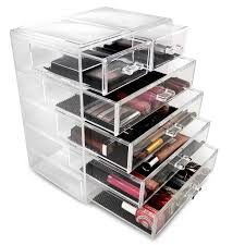 Bed Bath And Beyond Bathroom Cabinet Organizer by Amazon Com Sorbus Cosmetics Makeup And Jewelry Big Storage Case