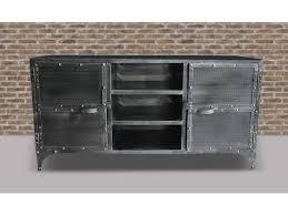 sideboard design metall ruben 2 türen 4 regalbretter
