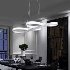 zmh pendelleuchte led esstisch hängeleuchte schwarz 47w dimmbar mit den fernbedienung hängele wohnzimmer arbeitszimmer kaufen otto