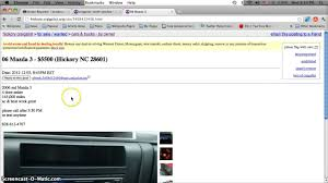 Craigslist Lenoir NC Used Cars For Sale By Owner - YouTube