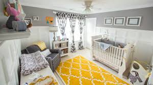 Gray Yellow For A Gender Neutral Nursery
