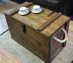 wooden chest coffee table foter