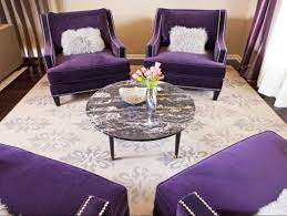 Comfy Accent Wall Bamboo Floor Purple Living Room Decor Cocktail Table Brown Couch Lamp Barn Door Mounted Fireplace Outdoor Rugs Beam Grey