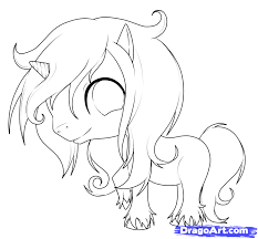 730x675 How To Draw An Easy Unicorn Step 9 Drawing Stuff Pinterest