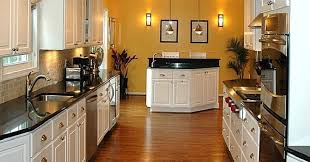 These Three Examples Of Virginia Galley Kitchens Clearly Demonstrate The Versatility That Remains Within Limits A Kitchen Space