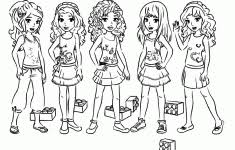 Good Lego Friends Coloring Page 13 About Remodel Download Pages With