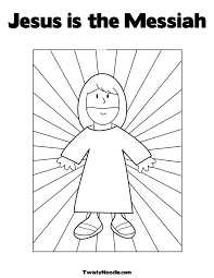 Activity Coloring Page Stwistynoodle Img R Jesus Is The Messiah