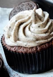 rezept oreo cupcakes mit frischkäse topping