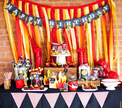 Fire Truck / Firefighter Birthday Party Ideas | Happy Birthday ... Ethans Fireman Fourth Birthday Party Play And Learn Every Day A Vintage Firetruck Anders Ruff Custom Designs Llc Ideas Thomas 2nd The Big 4 Sam Doubtful Mum Firefighter Oh My Omiyage Fire Truck Cs Rustic Refighte Parties Museum Decorations Journey Of Parenthood Charming At In A Box