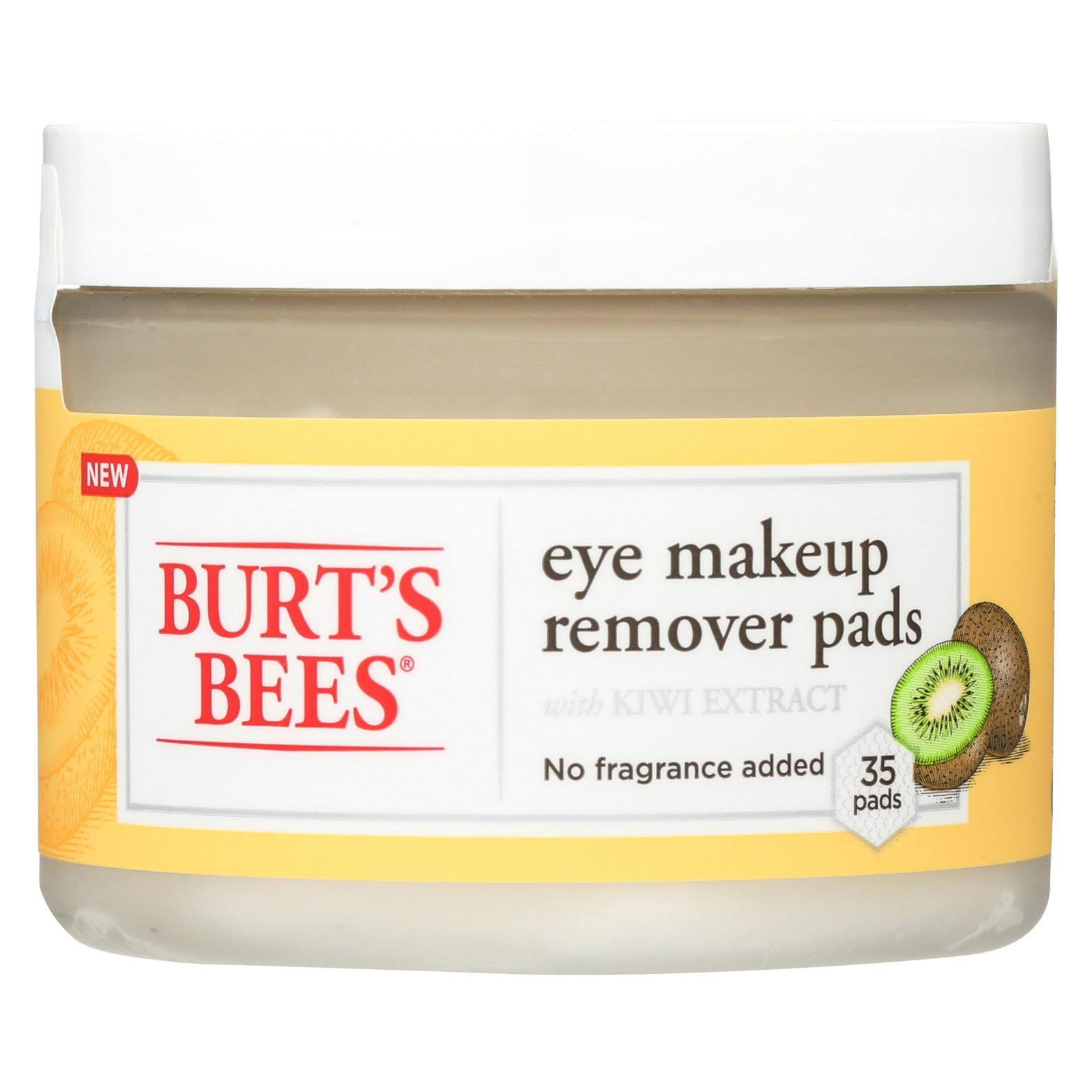 Burt's Bees Eye Makeup Remover Pads with Kiwi Extract - 35pk