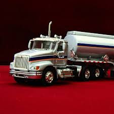 100 Dcp Trucks RARE DCP GULF OIL International Harvester 9100i With Gasoline