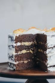 Chocolate Buttermilk Layer Cake with Mandarin Curd 22
