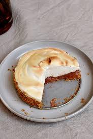 glutenfreier rhabarberkuchen mit baiser