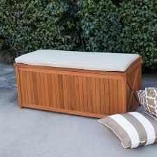Suncast 50 Gallon Deck Boxstorage Bench by Belham Living Brighton 48 In Outdoor Storage Deck Box With