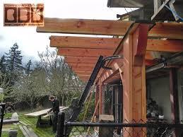 Floor Joist Span Table Deck by Cbd U0027s Brown Custom Balcony Work Page