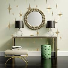 Retro Starburst Wall Decals Atomic Star Decal Geometric Decor Mid Century