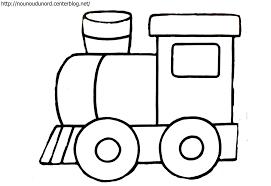Coloriage Locomotive à Imprimer