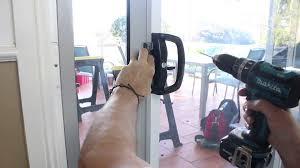 Doggie Door Insert For Patio Door by How To Install Patio Pet Door Insert And Adaptor Youtube