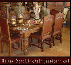 Spanish Style Rustic Furniture Mesquite Doors Tables Chairs Southwestern