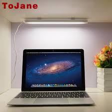 tojane usb led table l portable led reading desk l