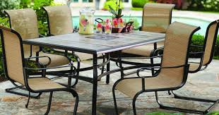 7 Piece Patio Dining Set by Home Depot Hampton Bay 7 Piece Patio Dining Set Only 299 Shipped