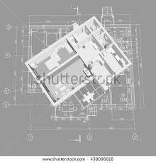3D Floor Plan Vector Blueprint Apartment Interior Architectural Design