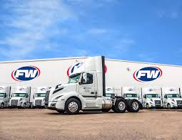 100 Tyson Trucking For FW Logistics