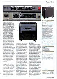 Ampeg V4 Cabinet Ohms by Ampeg Classic Series Svt 810e