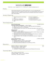 Online One Page Resume Template Best Of 55 Standard Templates For Mac
